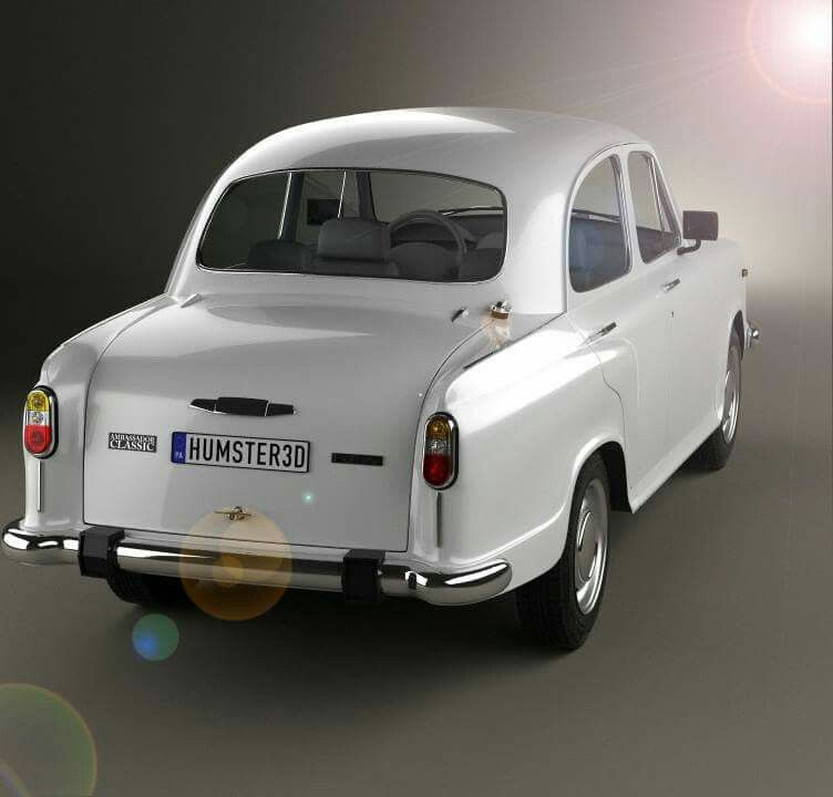 Ambassador A Classic Car From India Manufactured By