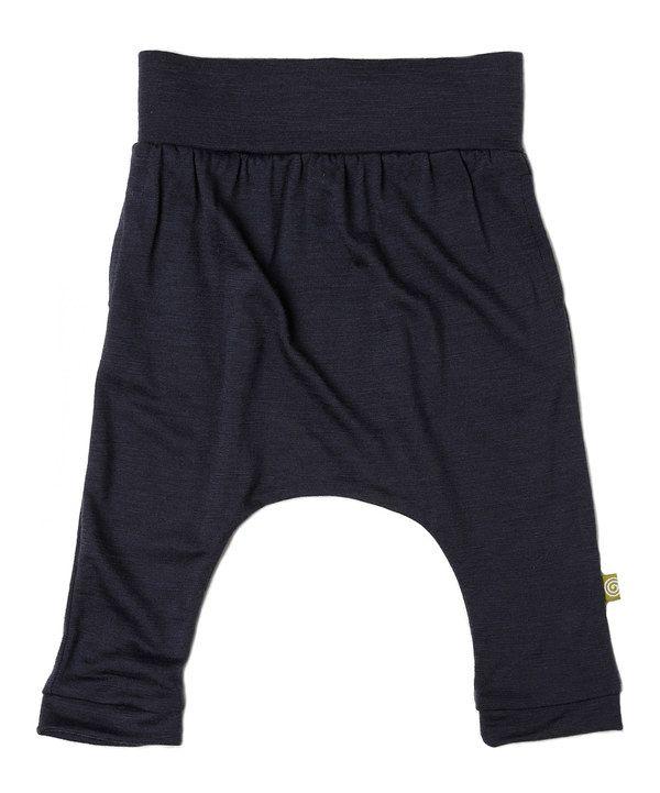 45f6acf86 Look at this Slate Organic Wool Harem Pants - Infant