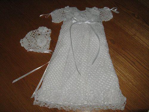 Crochet Pattern For Christening Dress Free Patterns Penny Keller