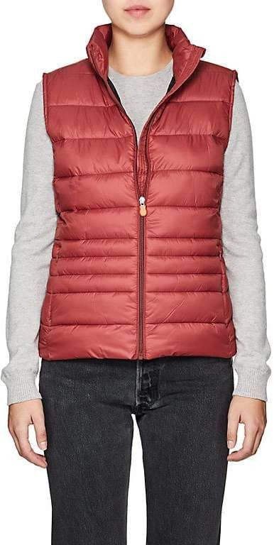 d57ae3ee52230 Save The Duck SAVE THE DUCK WOMEN S CHANNEL-QUILTED TECH-FABRIC VEST ...