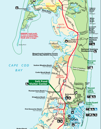 Cape Cod National Seashore Travel Guide. Spring Rec. Nobska Lighthouse In  Falmouth, White
