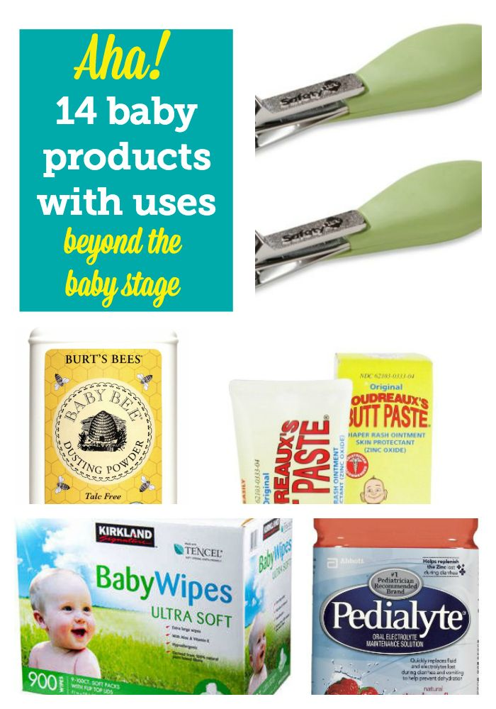 Okay, some of these ideas are blowing our minds. 14 baby products with uses for adults, too! Awesome list!