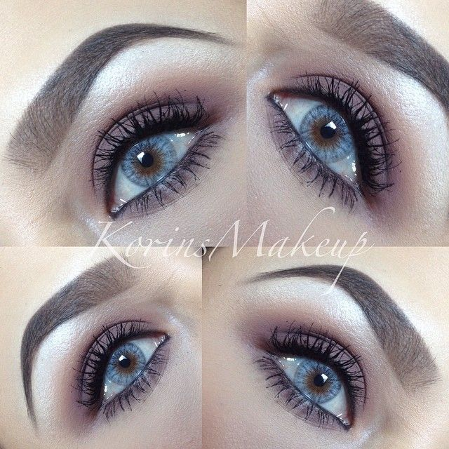 Really Simple Makeup For Today Here Are The Details Brows Anastasiabeverlyhills Brow Powder Duo In Dark Blue Eye Makeup Natural Contact Lenses Brow Powder
