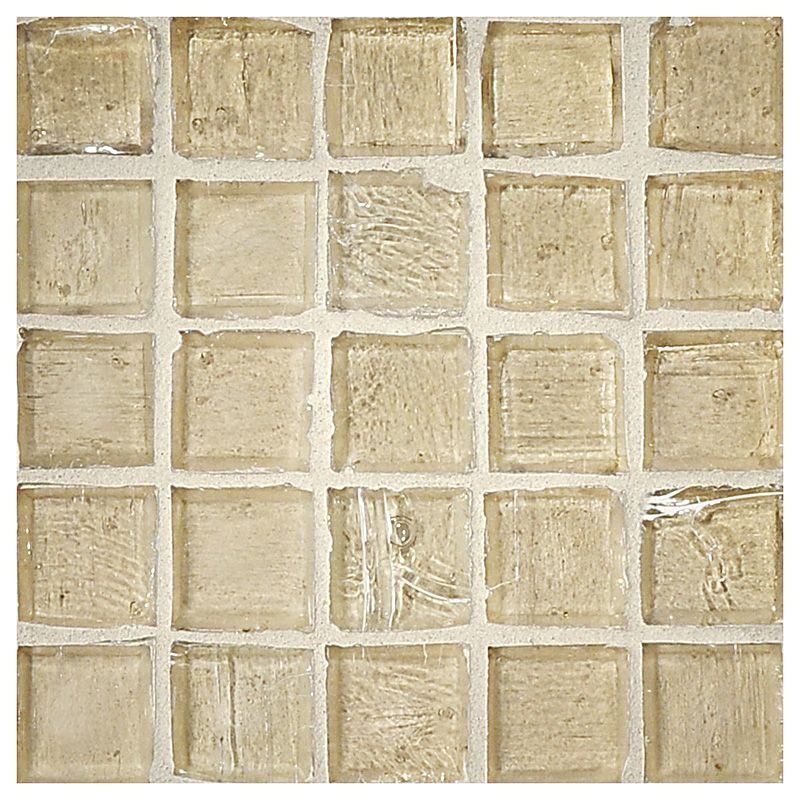 Complete Tile Collection Luna Glass Abbey Tan Natural Finish 1 Square Mosaic Mi 038 G2 260 113 Mosaic E Mosaic Glass Mosaic Flooring Mosaic Tiles