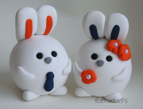 Bunny Cake Toppers