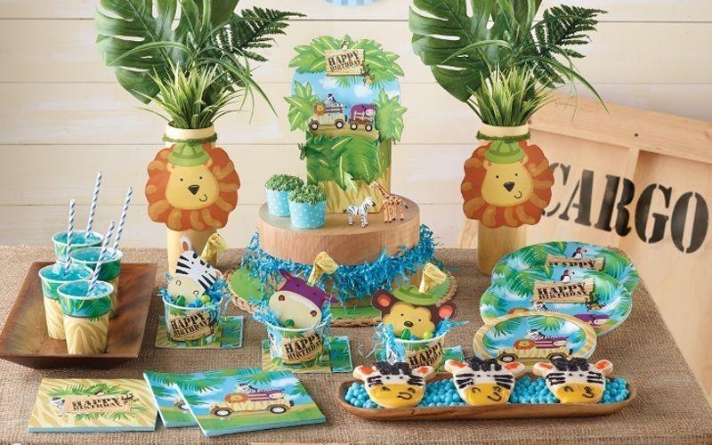 Beste van decoratie kinderfeestje deko jungle