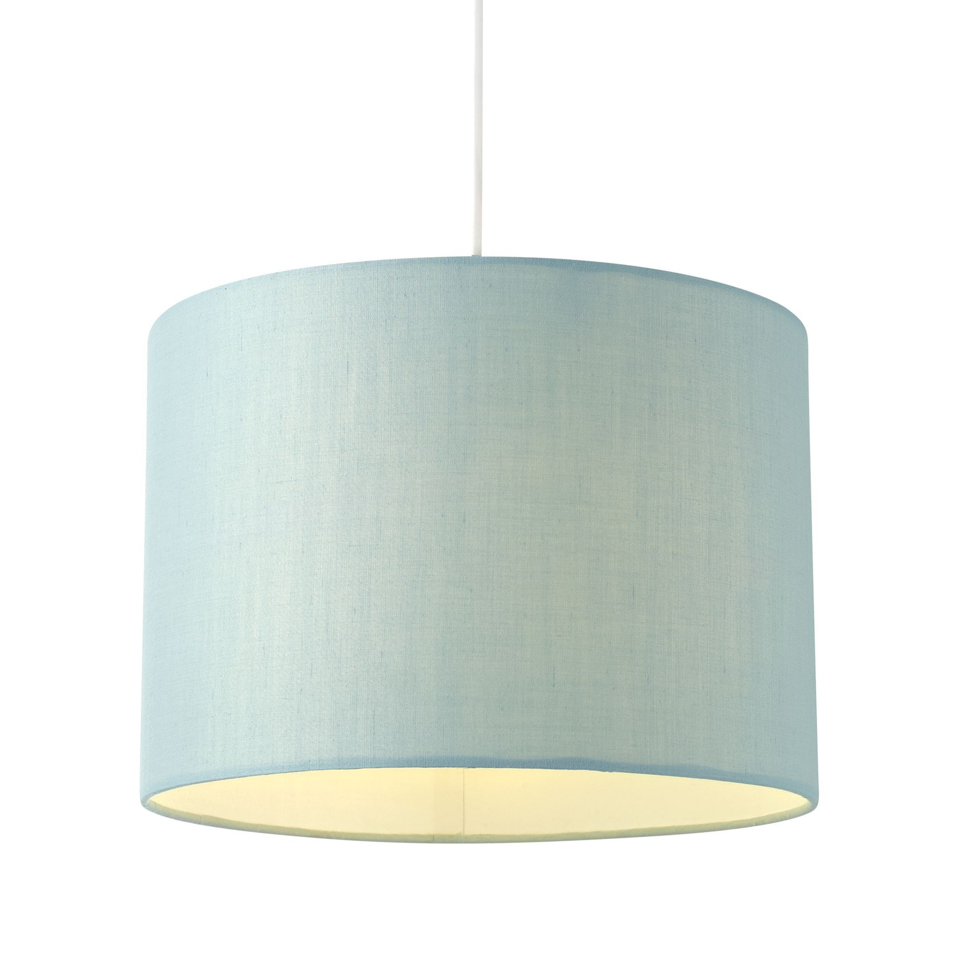 Colours Fairbank Duck Egg Blue Drum Light Shade (Dia)280mm
