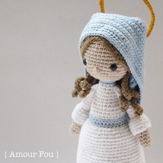 Nativity Set - Crochet Pattern by {Amour Fou} | Картина | Pinterest ...