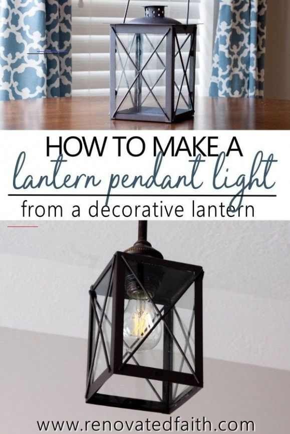 Mind Blown Lantern Pendant Light Diy Light Fixture Updates