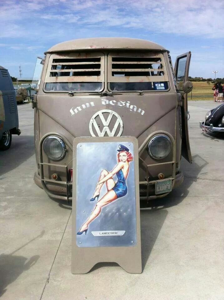 Vw armored bus