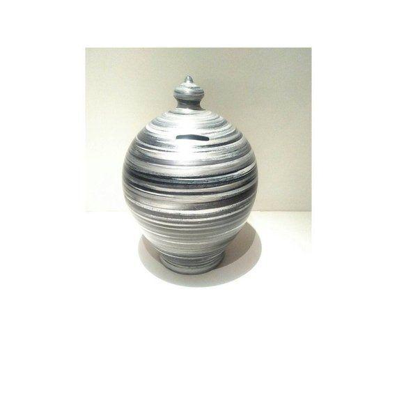 Adult piggy bank coin bank pottery coin box piggy bank for Coin arredamento