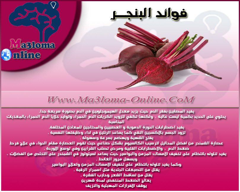 فوائد البنجر ما هى فوائد البنجر Www Ma3loma Online Com Food Beef Health