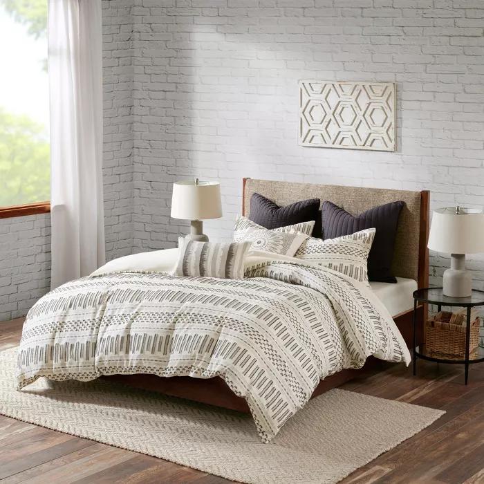 3pc King/California King Rhea Cotton Comforter Mini Set