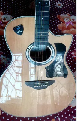 Yamaha Acoustic And Semi Electric Guitar Model Apx500 Come From Indonesia And Also Made In Indonesia Only 3 Months Us Yamaha Acoustic Guitar Electric Guitar