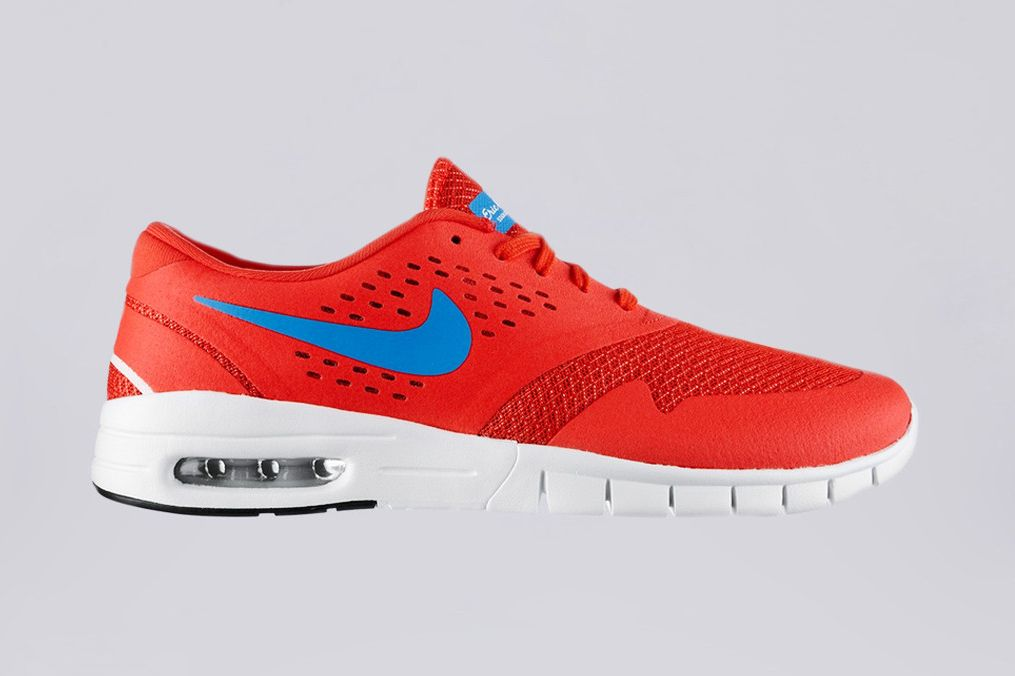 Authentic Nike SB Eric Koston 2 Max - Skate Shoes - Crimson Red/Blue