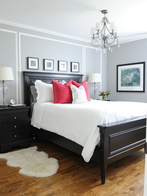 25 Stylish And Practical Traditional Bedroom Designs | Master Bedrooms Decor, Small Master Bedroom, Gray Master Bedroom