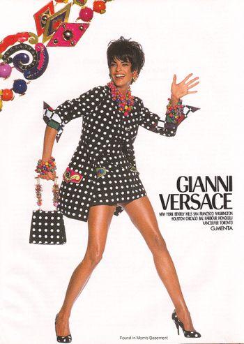 Soft Water Versace Fashion Vintage Versace High Fashion
