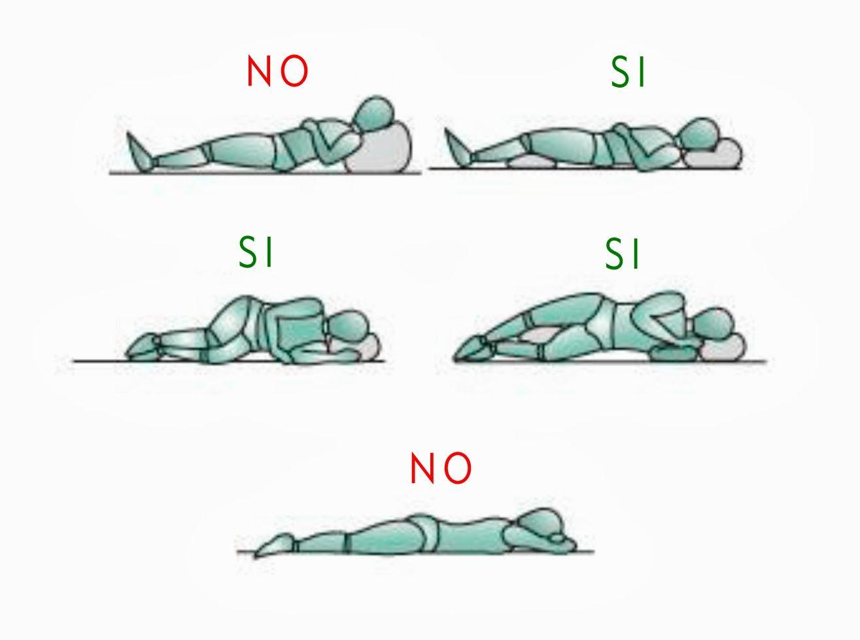Día por Día me Supero: Beneficios de dormir del lado izquierdo