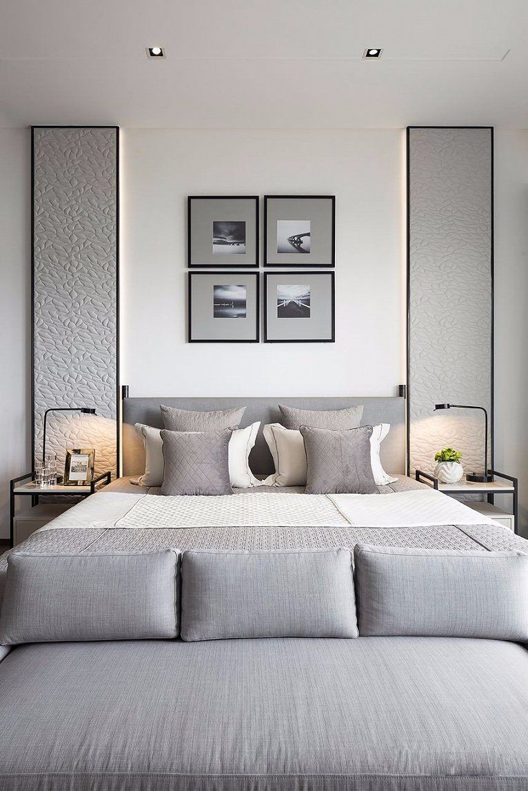 Pin By Clb On The Grey Roost Modern Bedroom Design Luxurious