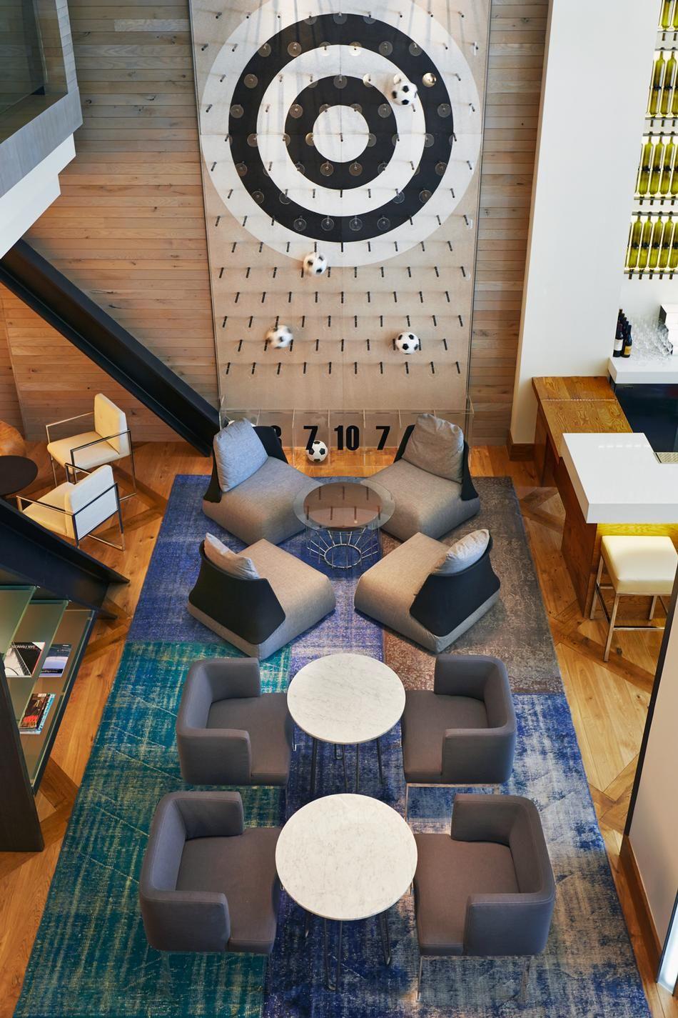 Hotel zetta san franicso by dawson design associates Diseno de interiores san sebastian