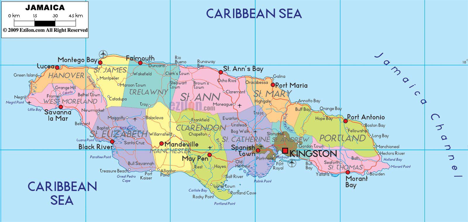 Despite its location almost smack in the center of the Caribbean Sea