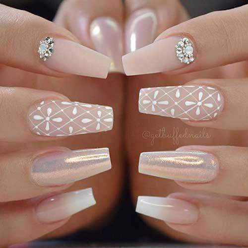 Photo of 2018 Wedding Nail Designs, 2018 Wedding Nail Designs-19, … – 2018 Wedding Nail …
