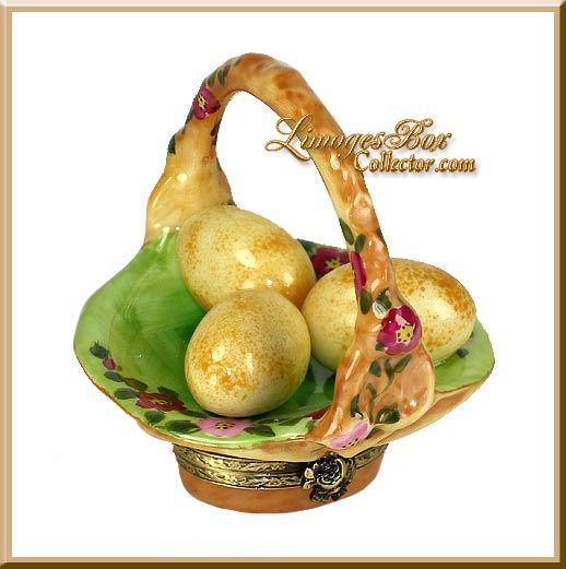 Easter Egg Basket w/ Flowers (Beauchamp)