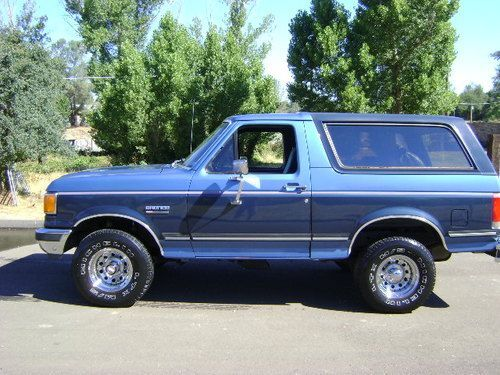 1988 Ford Bronco 2 Door Blue Find Used 1988 Ford Bronco Original Paint Rust Free Low Miles In Ford Bronco Bronco Ford