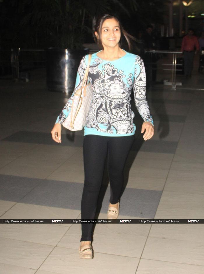 Fly by night: Alia, Arjun