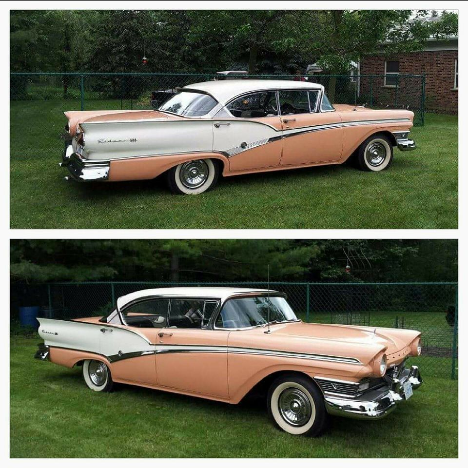 Meteor Rideau 500 Hardtop 1957 Canadian Ford Ford Motor Car Ford Classic Cars