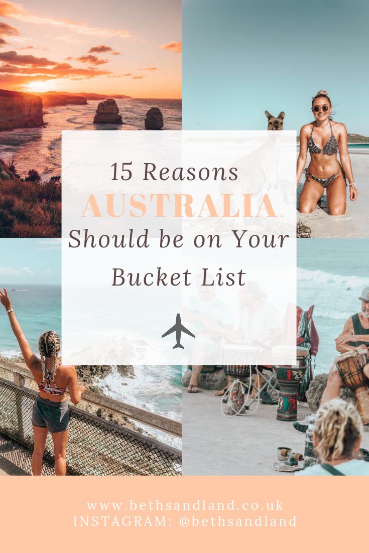 15 Reasons Australia Should Be On Your Travel Bucket List Australia Travel Oceania Travel New Zealand Travel