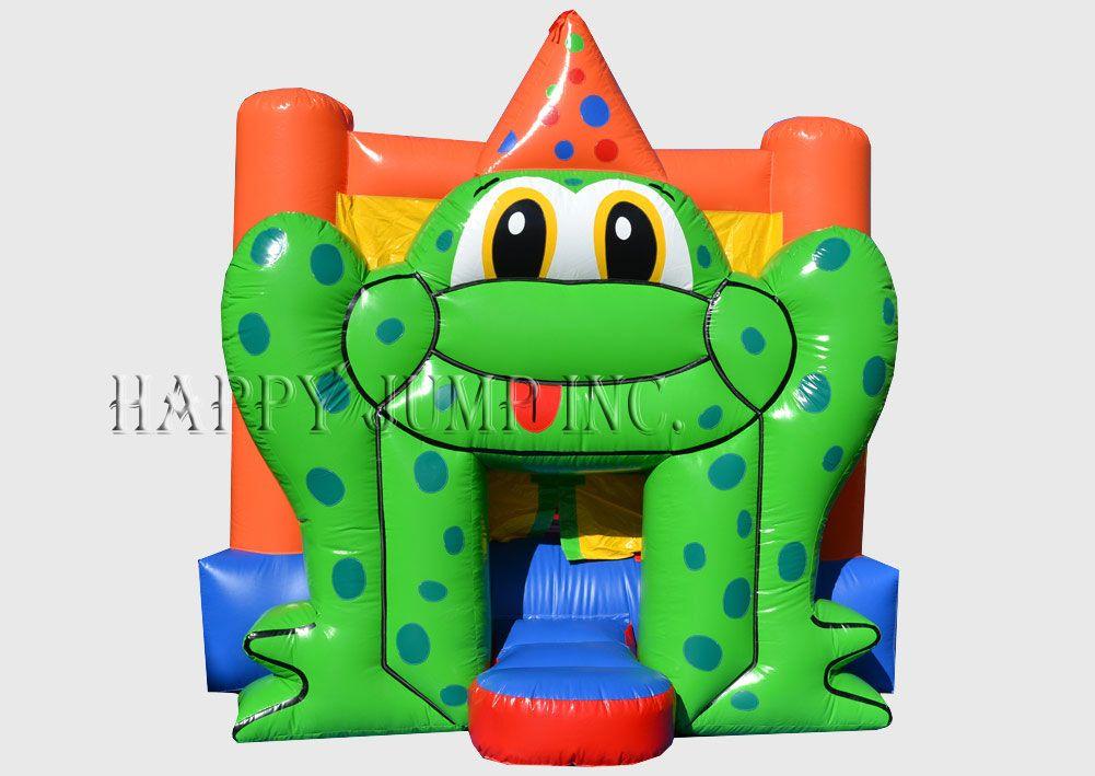 Frog Bounce Moonwalks Inflatable Water Slides Bounce House