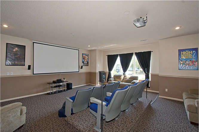 Movie Theater Room At Hinton Heights In Cottage Grove Mn Movie Theater Rooms Cottage Grove Home