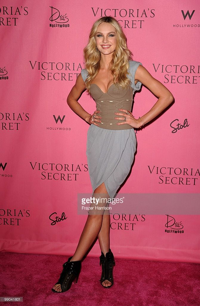 5d773ceb94 Victoria s Secret Supermodel Candice Swanepoel arrives at the reveal of  Victoria s Secret Supermodels celebration of 2010 5th Annual  What Is Sexy    List  ...