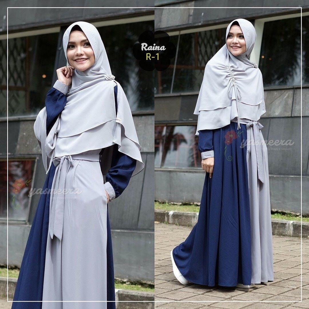 Gamis Yasmeera Raina Dress R1 - baju gamis wanita busana muslim Untukmu yg  cantik syari dan fd8145fe08