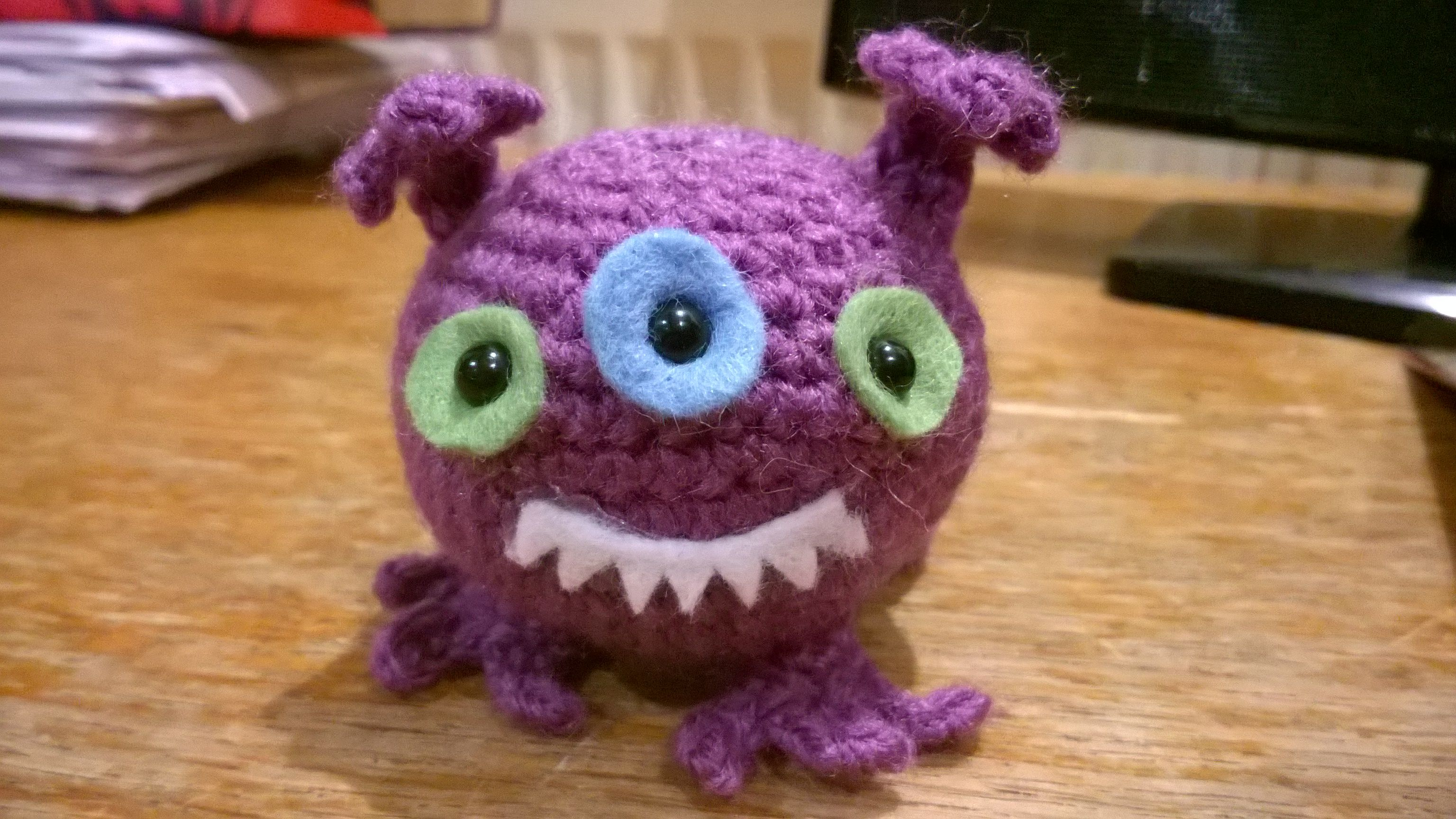 Amigurumi Monsters Inc : Best crochet monsters images crochet dolls