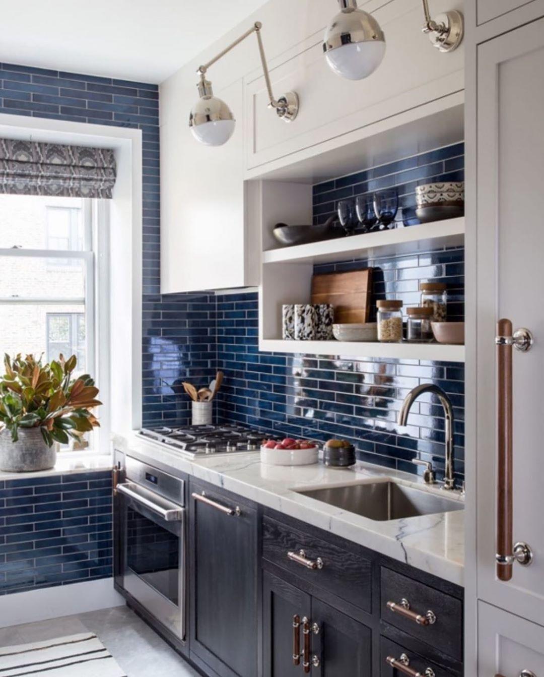 12+ Blue kitchens ideas  blue kitchens, kitchen design, kitchen