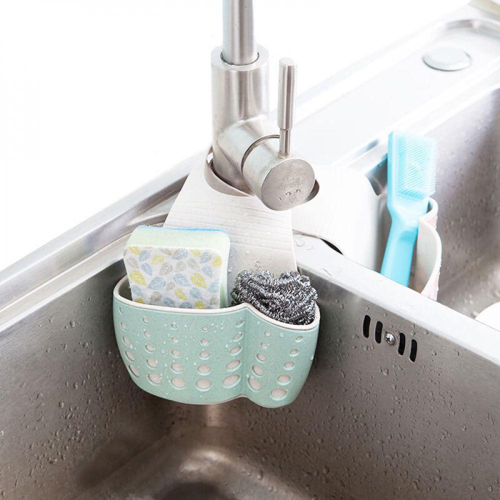 Kitchen Sponge Drain Holder Toilet Soap Shelf Organizer Storagedelight Kitchen Sponge Holder Kitchen Sponge Sponge Holder