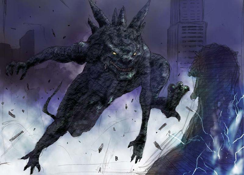 Godzilla Final Wars Concept Art 2004 Godzilla Godzilla Vs Anime Movies