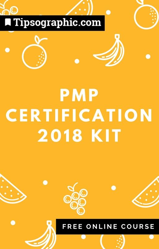 Pmp Certification 2018 Kit Free Online Course Based On Pmbok6