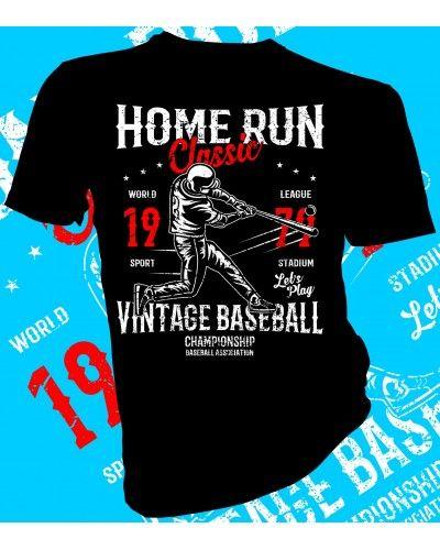 Genial Home Run. Baseball Vintage T Shirt Design. #lahfabrics #fashion #style #art  #gifts #design #tee #tshirt #streetstyle #street #streetwear #baseball  #ballet ...