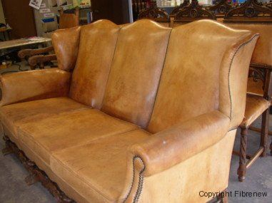 Video How To Destroy And Restore A Leather Couch Upholstery Repair Leather Couch Vinyl Fabric