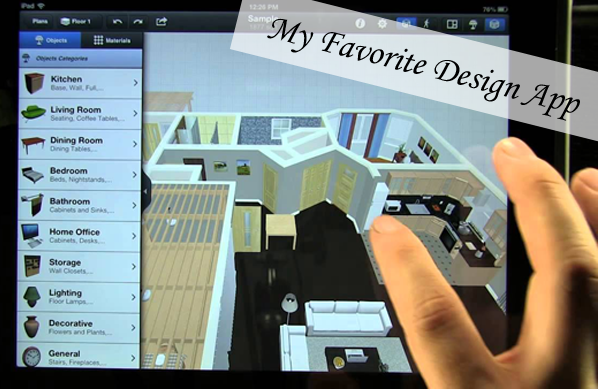 Save Time My New Fav 3d App Interior Design For Ipad