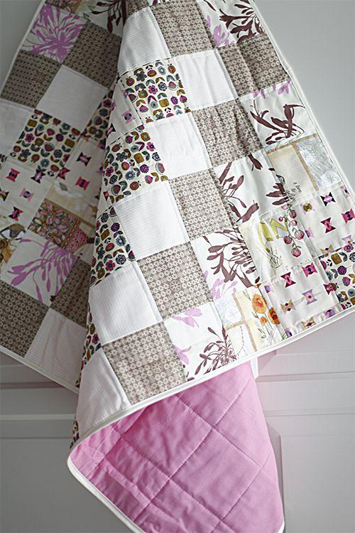 n h dir deine patchworkdecke f r kinder n hen pinterest n hen patchworkdecke n hen und. Black Bedroom Furniture Sets. Home Design Ideas