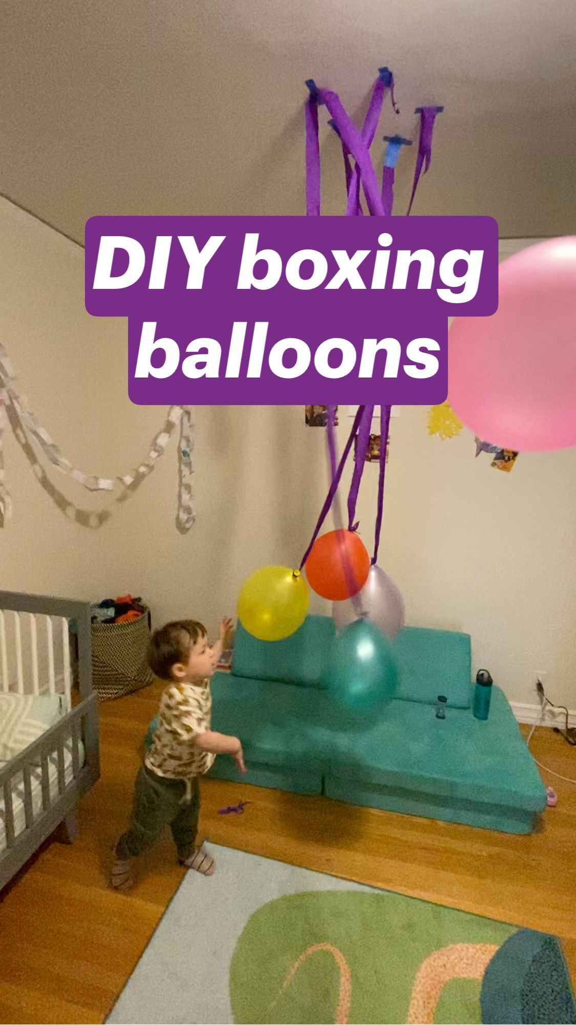 DIY boxing balloons