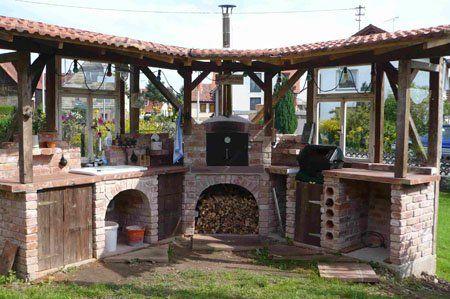 Eine gemauerte Gartenküche u2013 mehr als nur ein Grill Grillfansde - outdoor küche selber bauen