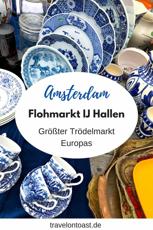 Flohmarkt Amsterdam IJ Hallen: Der größte Trödelmarkt Europas