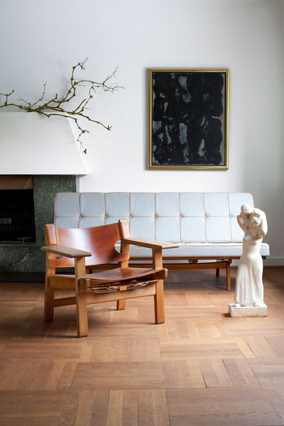 Spanish Chair by Børge Mogensen from Fredericia Furniture
