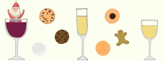 America's 14 Favorite Christmas Cookies Paired With Wine [INFOGRAPHIC]