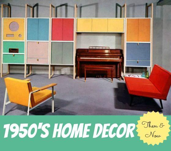 Superior Home Decor Of The 1950u0027s